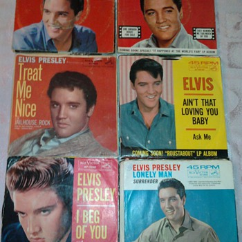 ELVIS RECORDS - Records