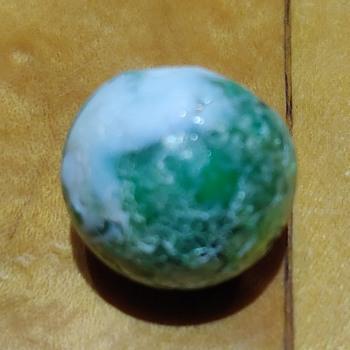 Green marble - Art Glass