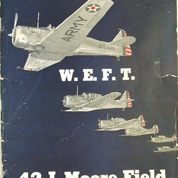1942 Moore Field, Mission, Texas, Army Air Force Class Book - Military and Wartime