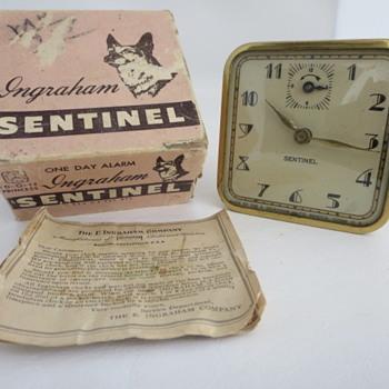 Ingraham Sentinel Alarm Clock - Clocks