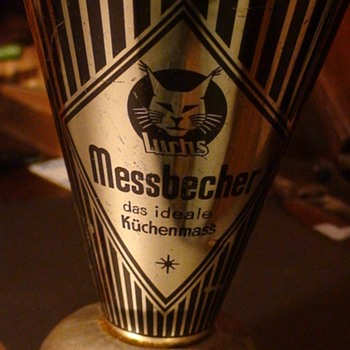 German Luchs Messbecher Measuring Cup 1950s - Kitchen
