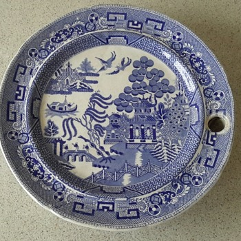Copeland and Garrett Late Spode Warming Plate