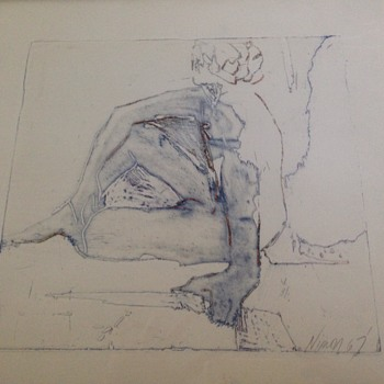 Need Help Identifying Artist - Mid-Century Modern