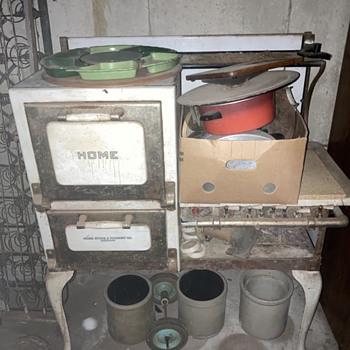 Old stove - Kitchen