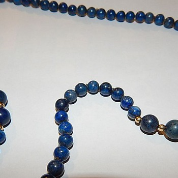 Sapphires? Lapis? Who knows?   - Fine Jewelry