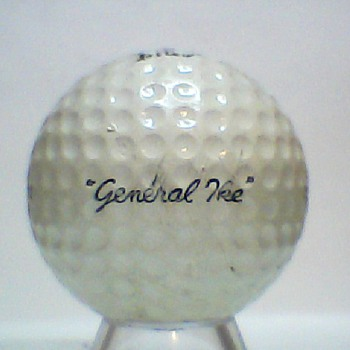 "The Real ""General Ike"" Golf Ball"