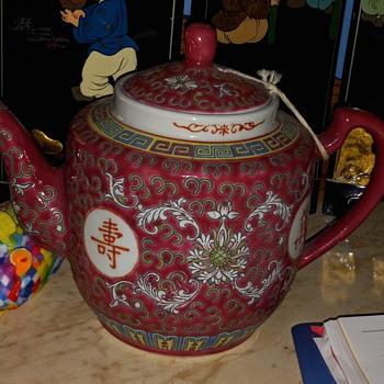 Teapot - China and Dinnerware