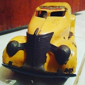 """Marx"" Taxi Cab Toy  - Toys"