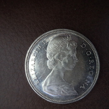 1966 Canadian Silver Dollar - World Coins