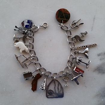 California theme charm bracelet - Fine Jewelry