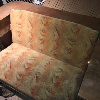 1928 R Hamp & Co Settee Table - Furniture