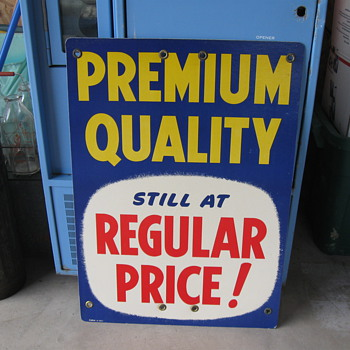 Sunoco sign sells cheap! - Petroliana