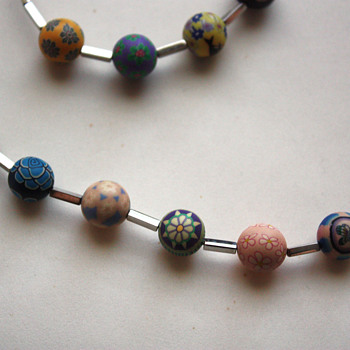 Swatch stainless steel / plastic beads jewelry - Costume Jewelry