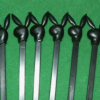 Vintage Playboy Club Swizzle Sticks