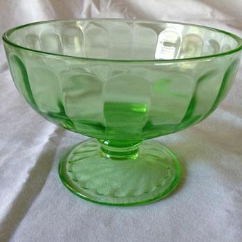 Depression and vaseline glassware - Glassware