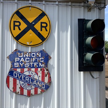 Union Pacific at aaaLakeside Storage - Railroadiana