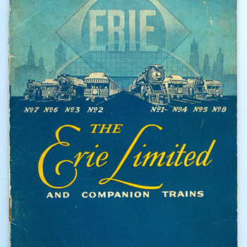 Erie Limited Ephemera Collection