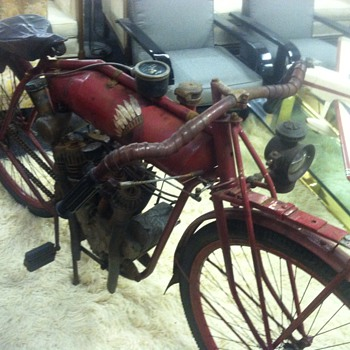 Old motorcycle At Renningers  - Motorcycles