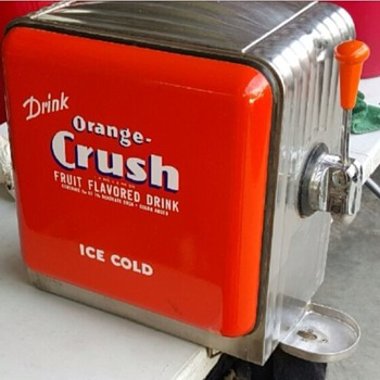 1920s orange crush fountain
