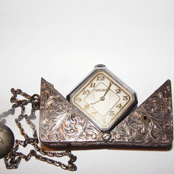 Greun Sterling Watch - Pocket Watches