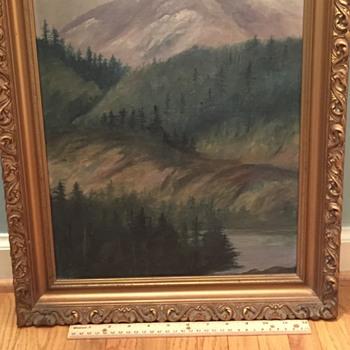 Painting 1912 @ Laggon - Folk Art