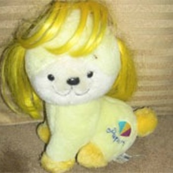 1983 Yellow Puppy with Yellow Hair - Dolls