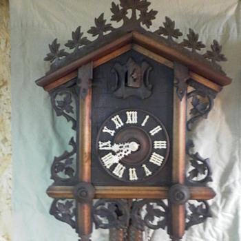 bone hands I carve for antique cuckoo clocks