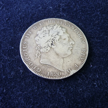 Big Boy George III & IV 1820 & 1821 - World Coins