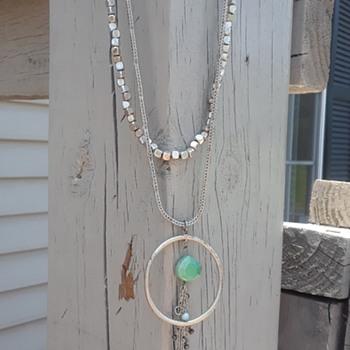 My favorite yard sale prettys. - Costume Jewelry