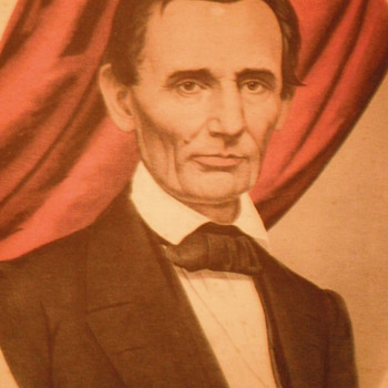 Abraham Lincoln lithograph - Posters and Prints
