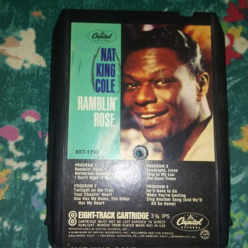 Mr. Nat King Cole....On 8-Track Tape Format - Records
