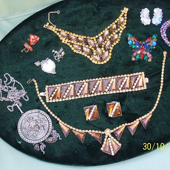 aren't these beautiful ? - Costume Jewelry
