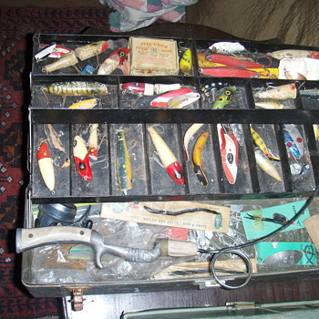 old Fishing lures