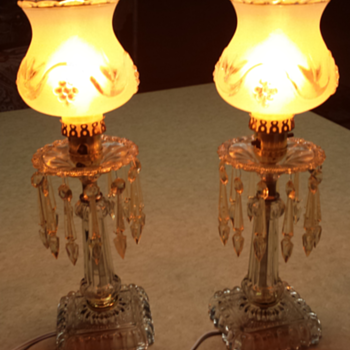 Old lamps from home. - Lamps