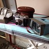 Todays car boot sale UK finds, Aldis Slide View, Zeiss Ikon Cortina 35mm film camera and a Boots nasty plastic slide viewer.