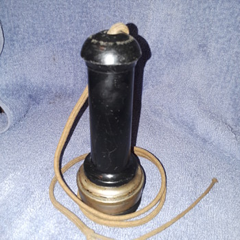 antique STROMBERG-CARLSON telephone receiver - Telephones