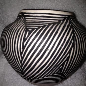 Acoma Indian pottery