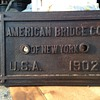 American Bridge Builder Plaque, New York , 1902