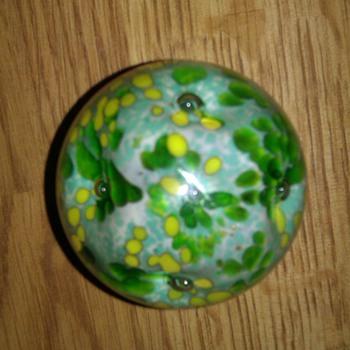 Hand blown Paperweight - Art Glass