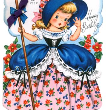Little Bo Peep | Fairfield Birthday Story Card