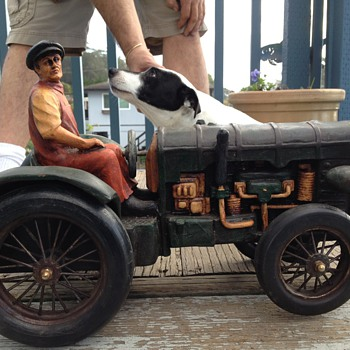 handcrafted 1920's Fordson Model N tractor - Tractors