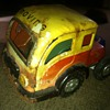 German made tin toy White truck from the 50's