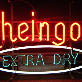 Rheingold Extra Dry neon sign - Signs