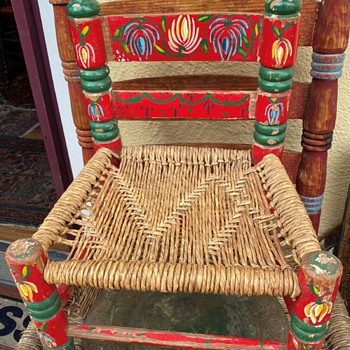 Mexican Child's Chair - Folk Art