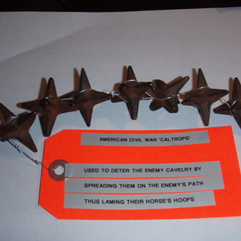 "American Civil War ""Caltrops"" - Military and Wartime"