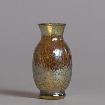 miniature Loetz Papillon  - Art Glass