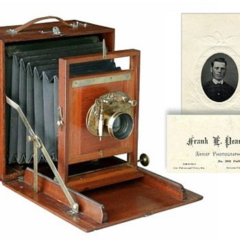 The 1883 Pearsall Compact Camera and its Maker - Cameras