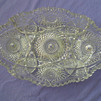 Mystery cut glass - Glassware
