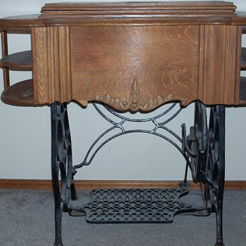 Rose City Treadle Machine Can not find anything about this mode; - Sewing