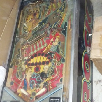 "my ""ROCK"" pinball machine, by PREMIER - Coin Operated"